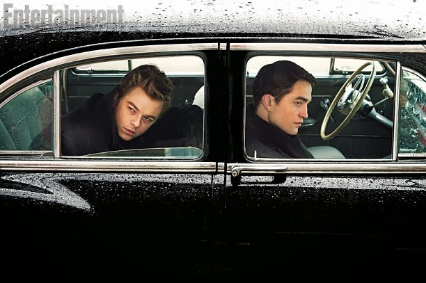 LIFE (2015)(L-R) Dane DeHaan as 'Jimmy' and Robert Pattinson as 'Dennis Stock'